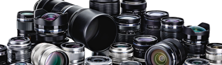 Photo of camera lenses