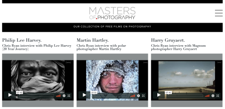 MastersOfPhotography Screen Shot