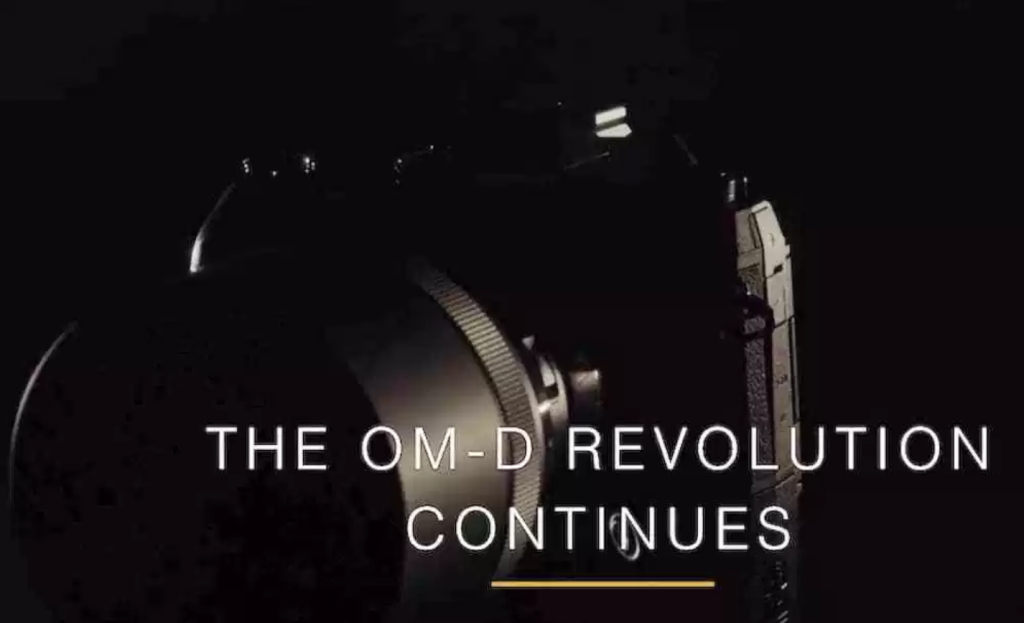Olympus OMD Teaser