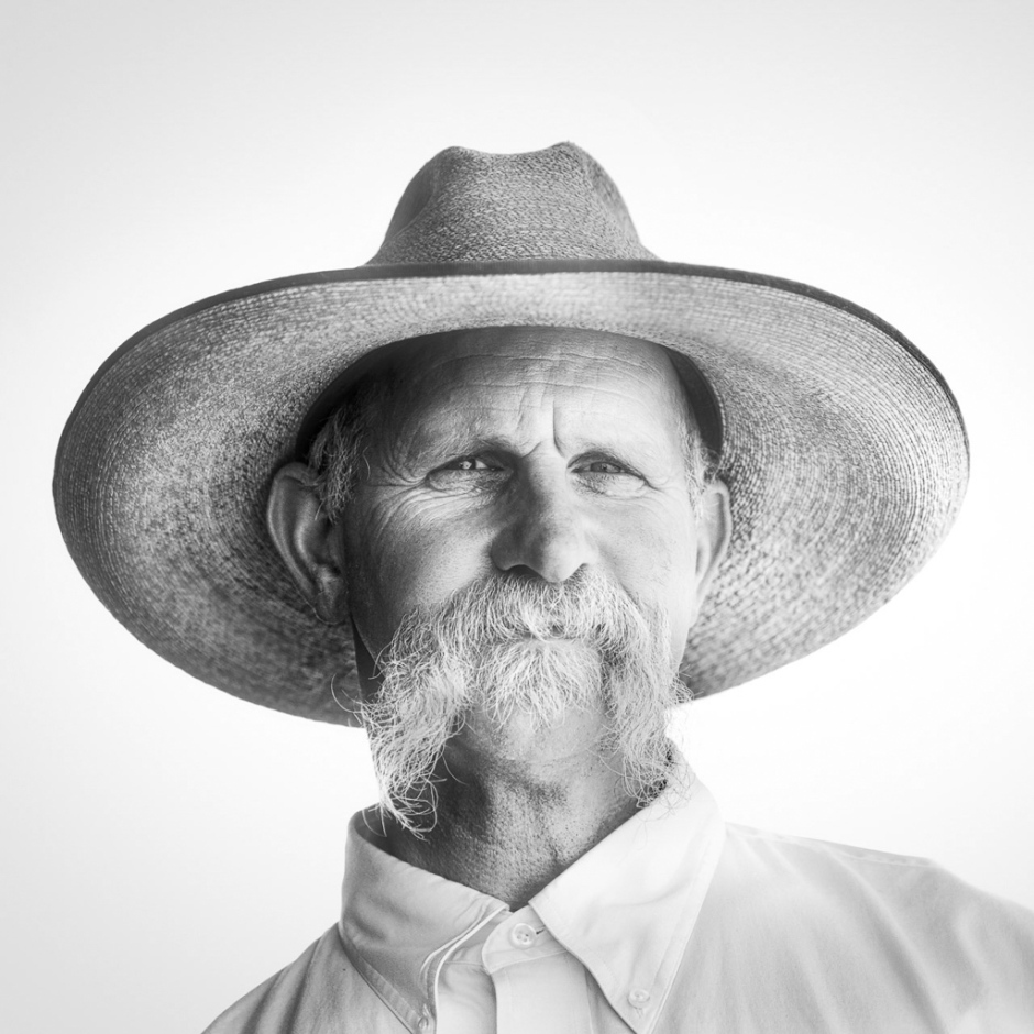 Cowboy Portrait by Scott Bourne