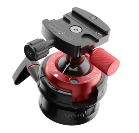 Uniqball UBH 45XC Ball Head with X-Cross Clamp - Mini Review