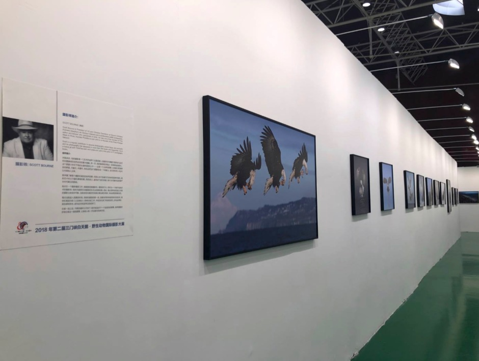 Photo Prints by Scott Bourne Hanging In China
