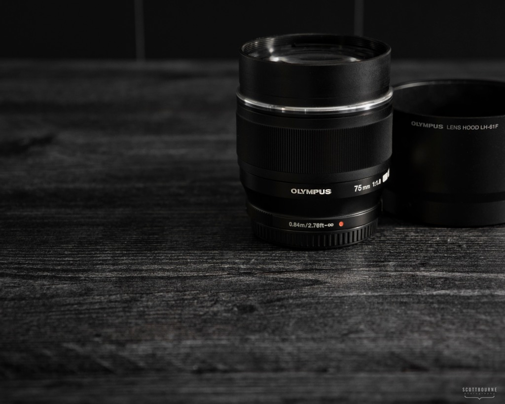 Olympus 75mm f/1.8 Lens Photo by Scott Bourne