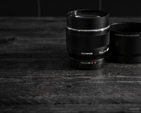Olympus 75mm f/1.8 Lens Photo by Scott Bourne