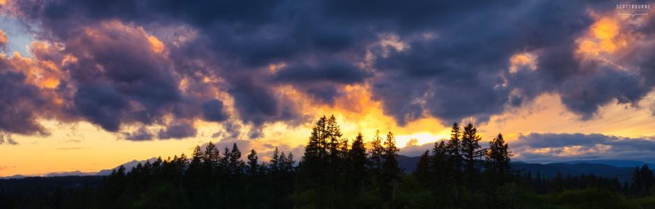 Kitsap Sunset Photo by Scott Bourne