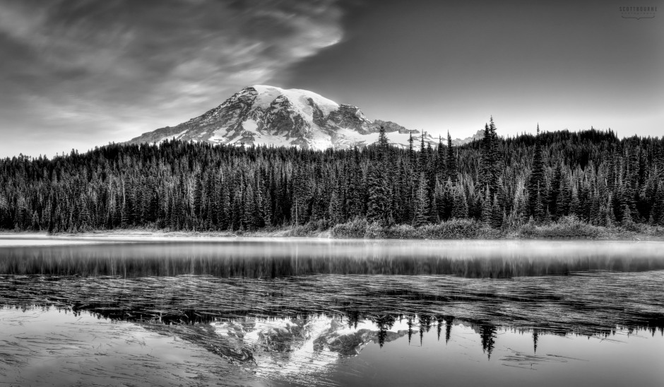 Mt Rainier Photo by Scott Bourne