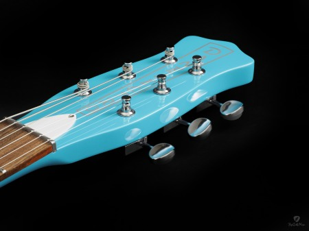 Danelectro Guitar Photo by Scott Bourne